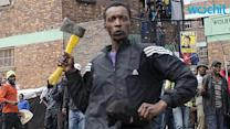 Police Patrol Johannesburg Township After Attacks on Immigrant Shops