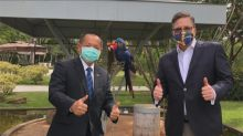 美台關係再升溫! 美巴西大使會晤我巴西代表