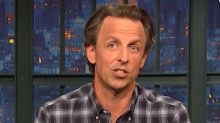 Seth Meyers: 'Now We Know Why Trump Is So Desperate To Stay In The White House'