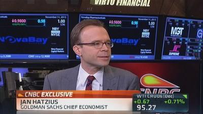Really hasn't been major hit from shutdown: Hatzius