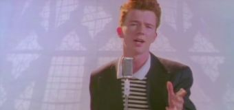 Rick Astley's 'Never Gonna Give You Up' hits 1B