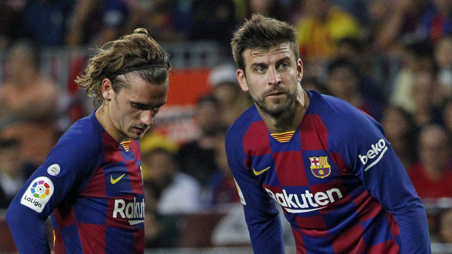 """Pique: Griezmann growing into Barca role """"little by little"""""""