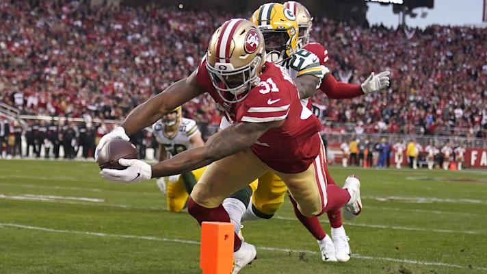49ers RB Raheem Mostert explodes against Packers
