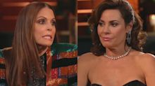 Luann de Lesseps gets brutal honesty from the other 'Housewives' about her singing