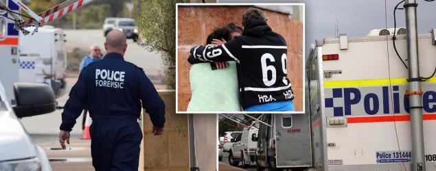 'Horrific crime scene' as mum, two kids found dead in suburban home
