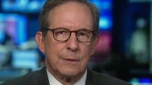 Chris Wallace reacts to news that Trump is being sent to Walter Reed Medical Center