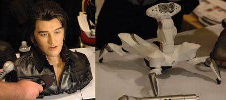 WowWee shows off Roboquad, singing robotic Elvis head