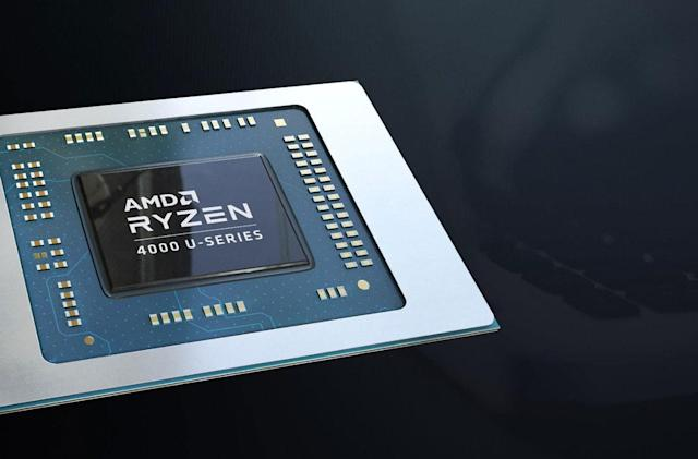 AMD's Ryzen 4000 chips bring eight cores to ultraportables