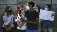 Young protesters take center stage in demonstrations against police killings of Black people