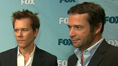 Kevin Bacon And James Purefoy: FOX's The Following Is 'Terrifying'