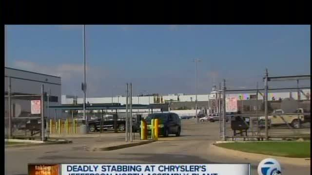 Deadly stabbing at Chrysler's Jefferson North Assembly Plant