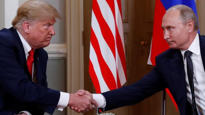 Trump meets Putin, predicts 'extraordinary relationship'