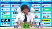 """Conte: """"Inizio a rivedere il vero Sanchez"""""""