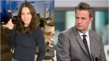 Courteney Cox Dances On TikTok And Matthew Perry Couldn't Be More Confused