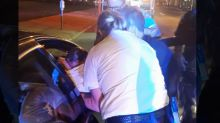 Officers Help Delivery Woman's Baby Boy on Side of the Road
