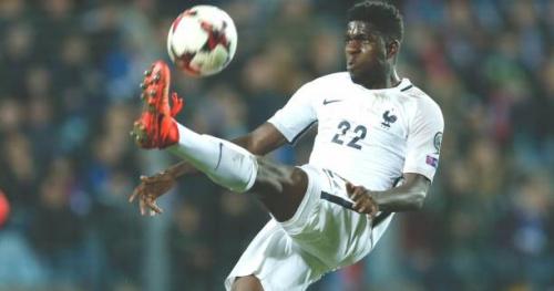 Foot - Bleus - Samuel Umtiti : «Plus qu'un match amical»