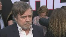 Hamill's 'Force Ghost' curtain call