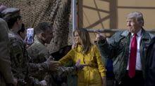 Cómo un fotógrafo aficionado expuso accidentalmente el viaje secreto de Trump a Irak