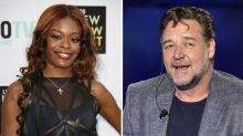 Azealia Banks files police report against Russell Crowe after he removed her from his hotel room