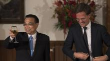 Chinese premier pledges access for Dutch companies