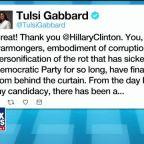 Tulsi Gabbard delivers stunning rebuke of Hillary Clinton