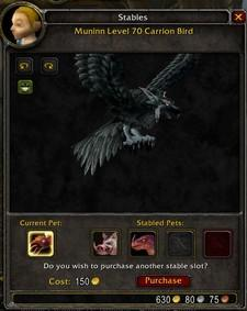 Mining the armory for Hunter pet statistics