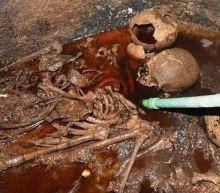 Egyptian Officials Open Black Sarcophagus, Find 3 Skeletons Inside