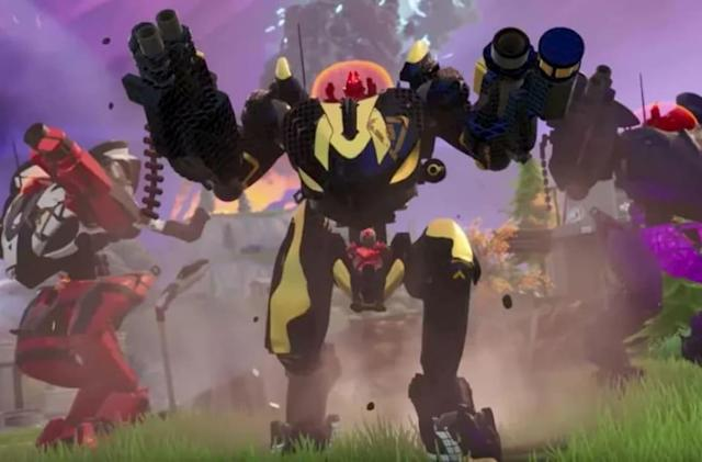 Epic added the hated mechs to 'Fortnite' so more players could win