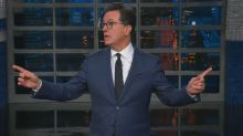 Fire alarm interrupts Stephen Colbert's 'Late Show' monologue