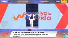 Toñi Moreno demuestra que 'Viva la vida' sigue siendo su programa