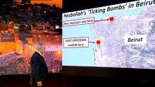 Netanjahu: Hisbollah hat in Beirut ein Waffenlager direkt neben einer Tankstelle