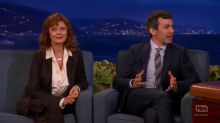 Susan Sarandon doesn't say a word in strange guest appearance on 'Conan'