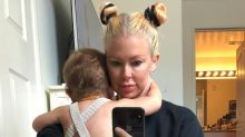 The after-baby picture Jenna Jameson nearly 'chickened out on' posting