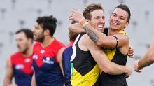 Key Tigers injured in AFL win against Dees