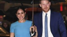 Harry et Meghan rendent hommage à Diana à Los Angeles