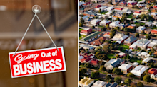 What happens to the property market in a recession?