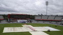 England frustrated by fourth-day washout