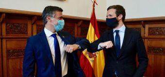 Casado recibe a Leopoldo López y le anima a seguir trabajando por la libertad