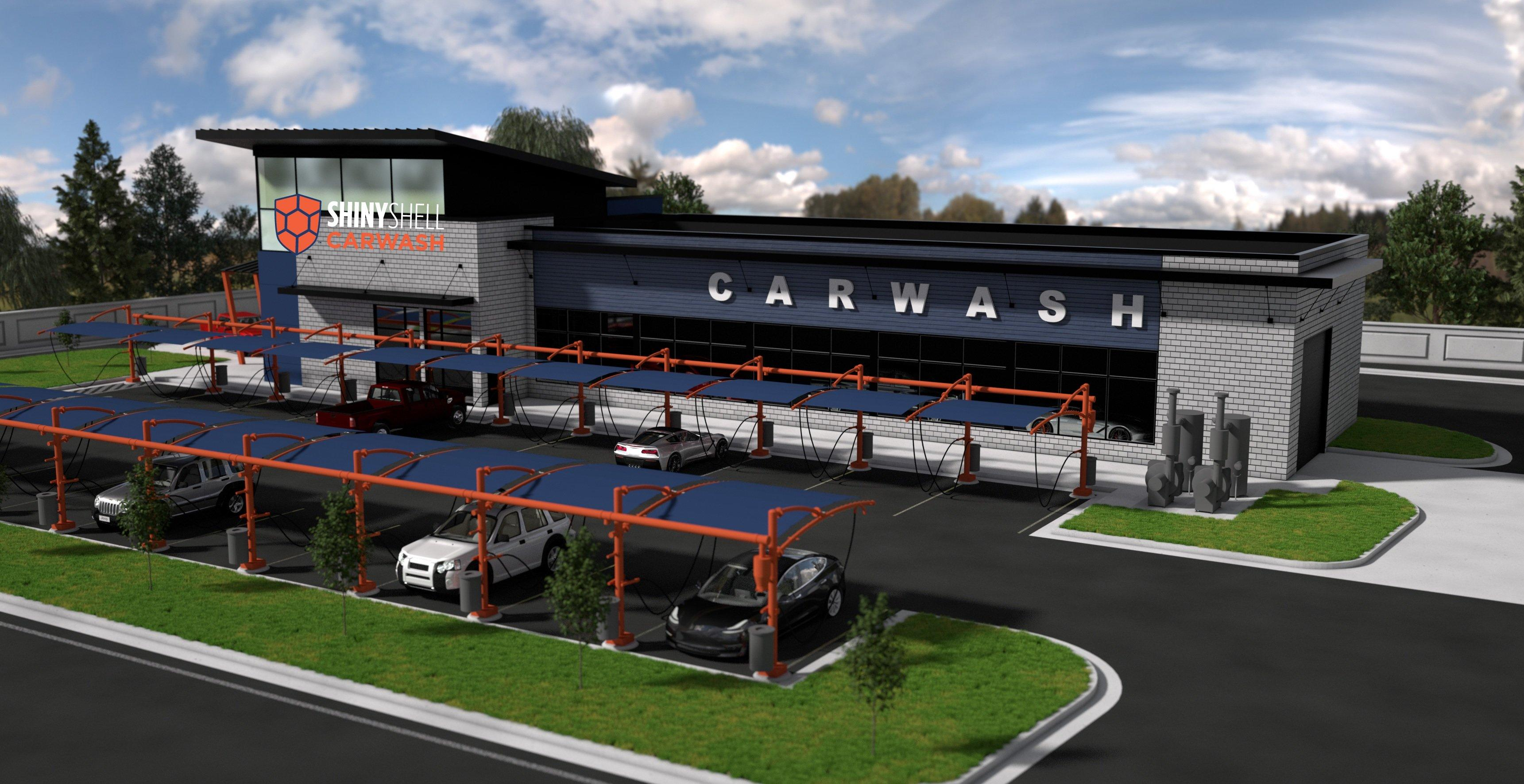 Shiny Shell Carwash To Build 10 Locations in Pennsylvania