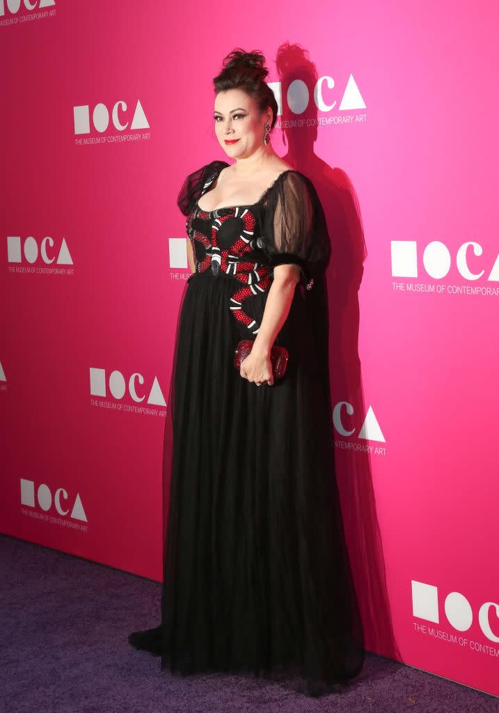 Oscars Auto Sales >> Actress Jennifer Tilly Isn't 'A Model Size,' So Gucci Customized Her Dress
