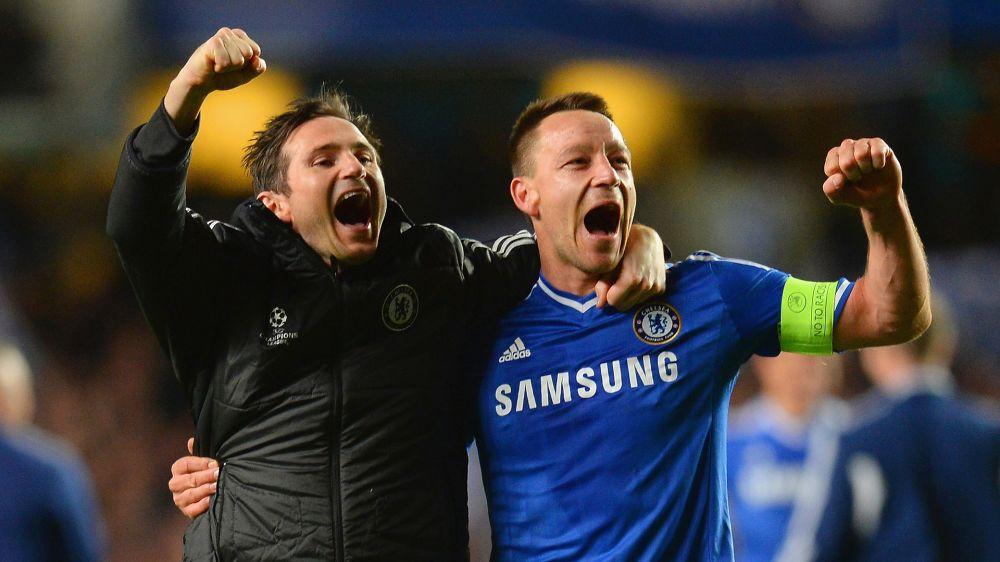 Chelsea: Frank Lampard huldigt Klub-Ikone John Terry