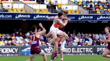 GWS star slammed over 'disgusting' shot on young Lion