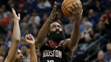 Harden's scorching run continues with 49 points