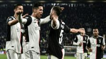 Ronaldo hits 701st goal as Juventus pull clear in Serie A