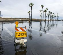 Powerful storm pounds Southern and Central California