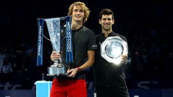 Classy Zverev revels in victory, hails defeated Djokovic
