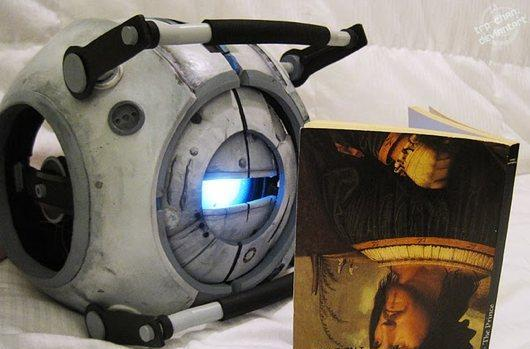 This Portal 2 Wheatley puppet is the best thing you'll see today