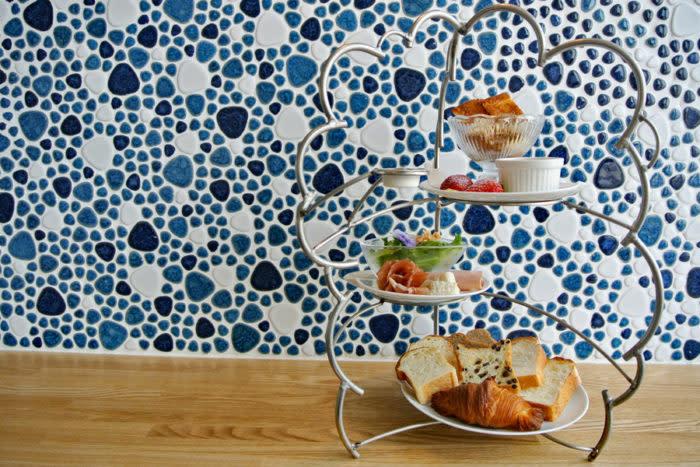 自由之丘咖啡廳Bread,Espresso & 自由形BREAD TEA SET