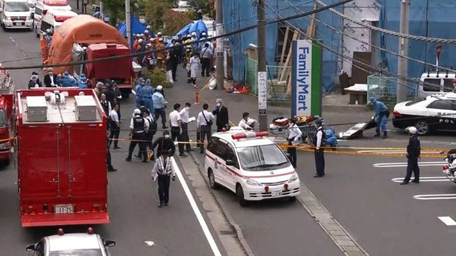 Giappone, incendio in uno studio di animazione: almeno un morto