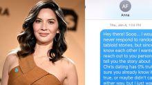 Olivia Munn Texts Anna Faris About Chris Pratt